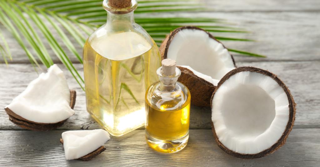 Olej kokosowy zawiera omega 3