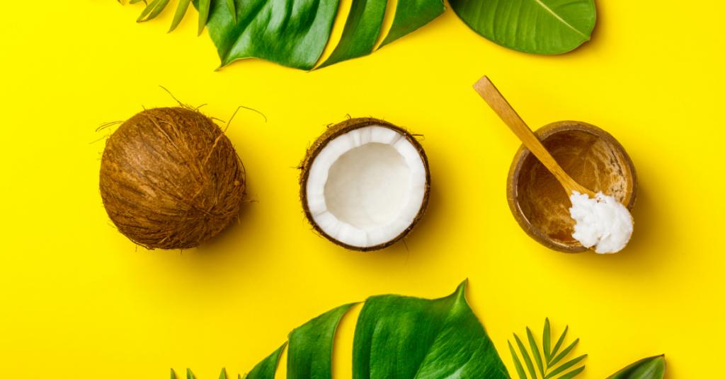 Olej kokosowy jest świetny dla skóry